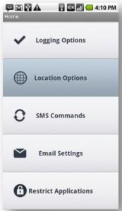 Mobile Spy Configuring