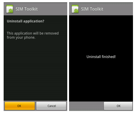 Uninstall Mobile Spy App